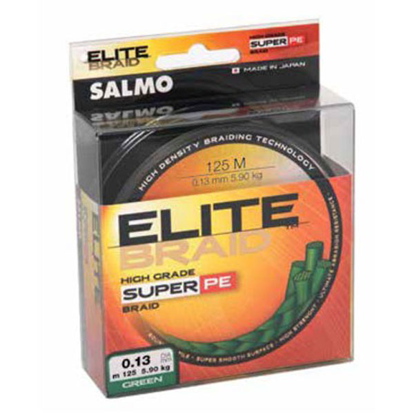 леска плетенка salmo elite braid green 125/024 (4814-024) RS0723 SALMO